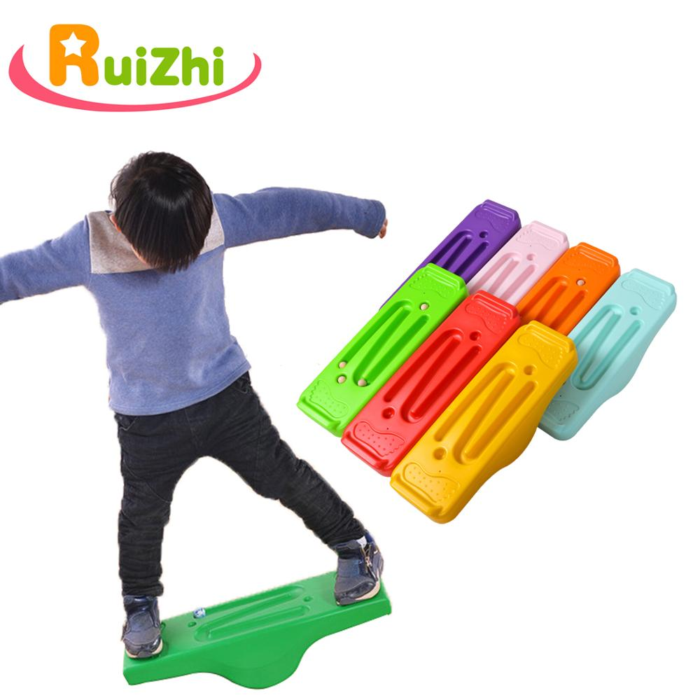 Ruizhi Children Balanced Seesaw Kindergarten Sense Training Equipment Parent-Child Game Outdoor Sport Toys Balance Board RZ1008