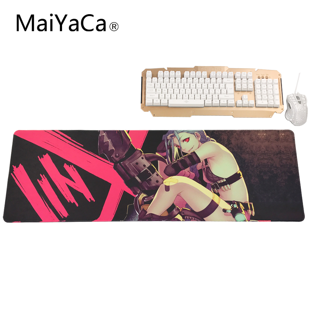 MaiYaCa LOL League of Legends Gaming Mouse Pad Mouse de Computador de Borracha Macia Grande XL Mats 700*300*2 MM