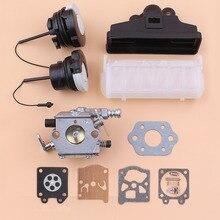Filtro de aire para carburador, Kit de junta con tapa de aceite y combustible para STIHL MS250 MS230 MS210 MS 250 230 210, piezas de repuesto para motosierra