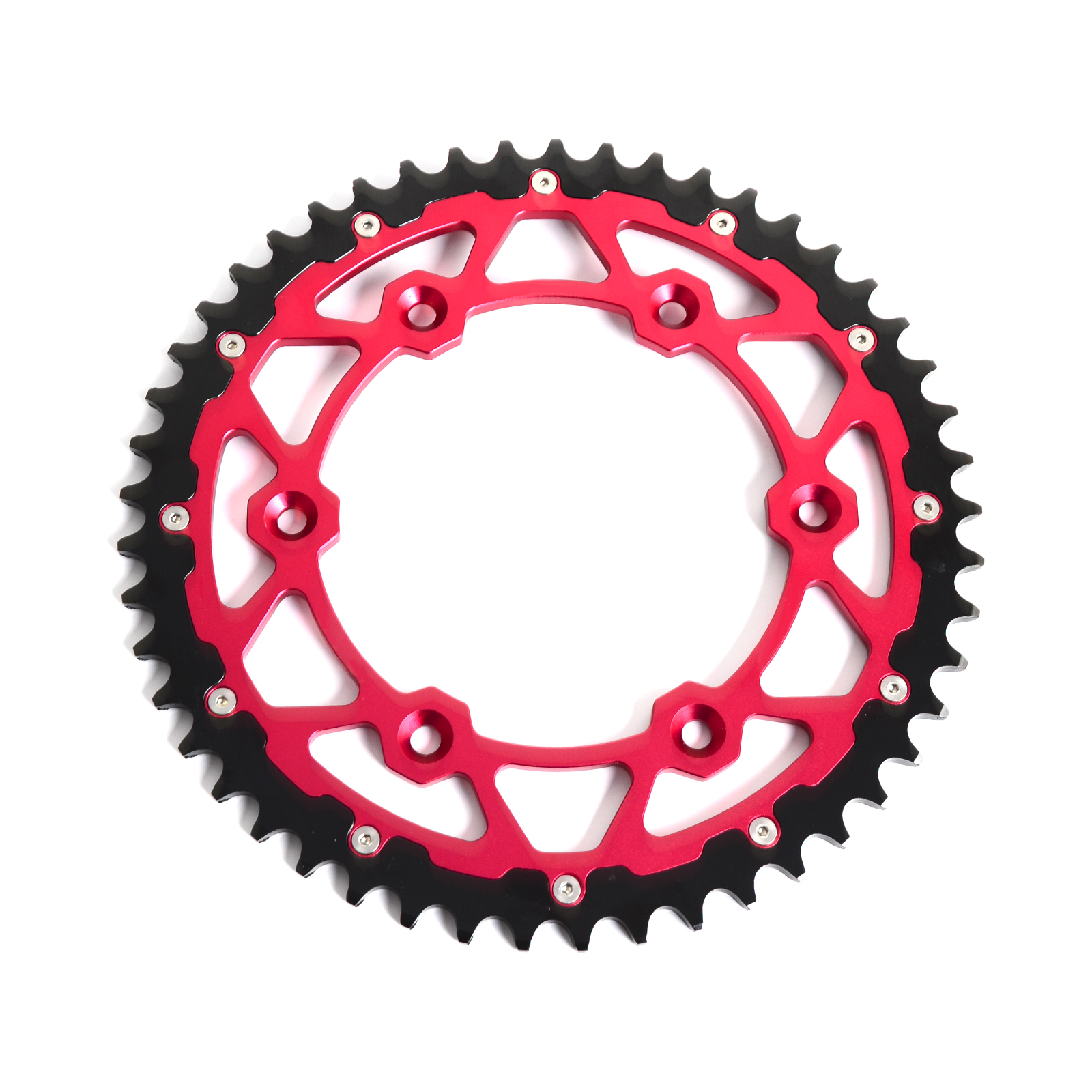 цена на Motorcycle Steel & Aluminum 49T Rear Sprocket For Beta 250 350RR 2T 390 430RS 450 480 498 RR Free Shipping