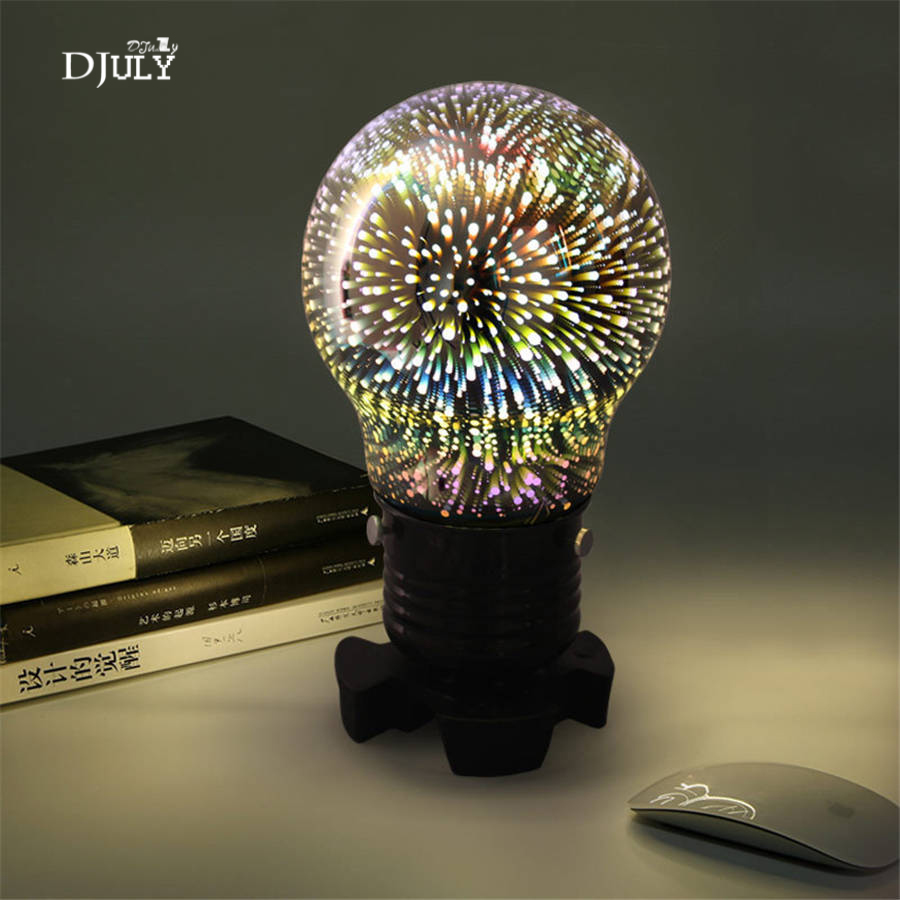 creative Colorful bulb night light for ktv bedroom bar Romantic atmosphere table light led baby night lamp art deco bedside lampcreative Colorful bulb night light for ktv bedroom bar Romantic atmosphere table light led baby night lamp art deco bedside lamp