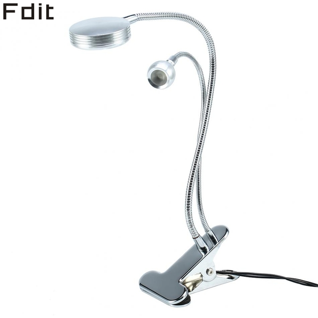 2in1 Portable USB Makeup Light Tattoo Permanent LED Lamp Adjustable Eyelash  Manicure Light