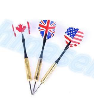 3pcs 18g demon flame Professional national flag Steel Tip Darts Flight Steel Tip Dart Darts Indoor sports 16model choose