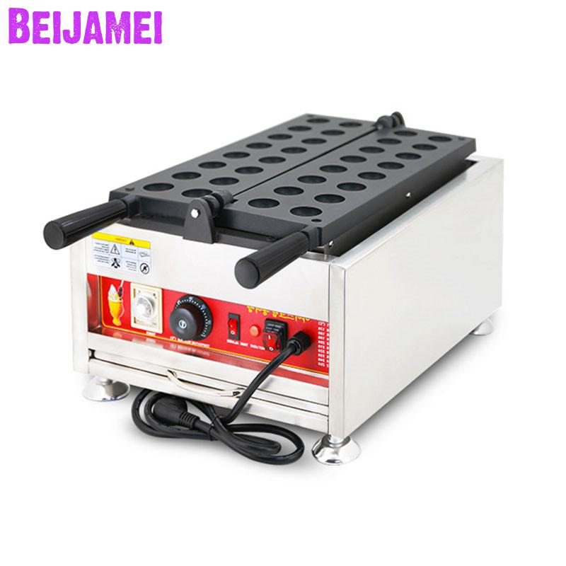 BEIJAMEI Commercial Nonstick 110v 220v Electric Cake Kaya Ball Maker Price Ball Shape Waffle Making Machine For SaleBEIJAMEI Commercial Nonstick 110v 220v Electric Cake Kaya Ball Maker Price Ball Shape Waffle Making Machine For Sale