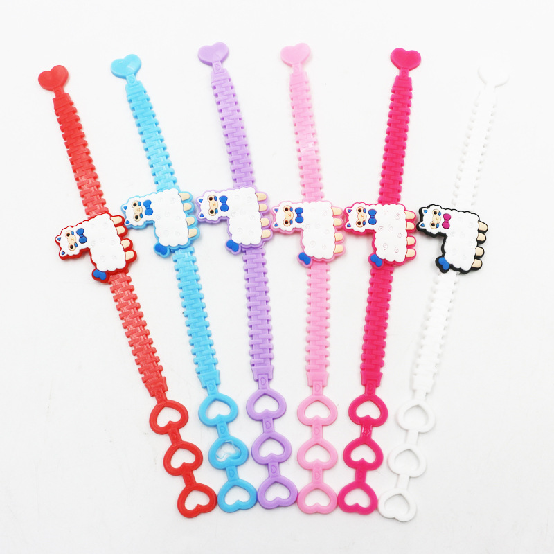 6pcs Newest Unicorn Party Decorations Rubber Bracelet Birthday Party Decorations Kids Baby Shower Mermaid Party Favors Supplies in Party DIY Decorations from Home Garden
