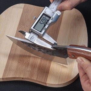 Image 4 - JapaneseHigh carbon thép rèn dao làm bằng tay bởi đầu bếp đường, thái lát với dao nhà bếp dao đồ tể