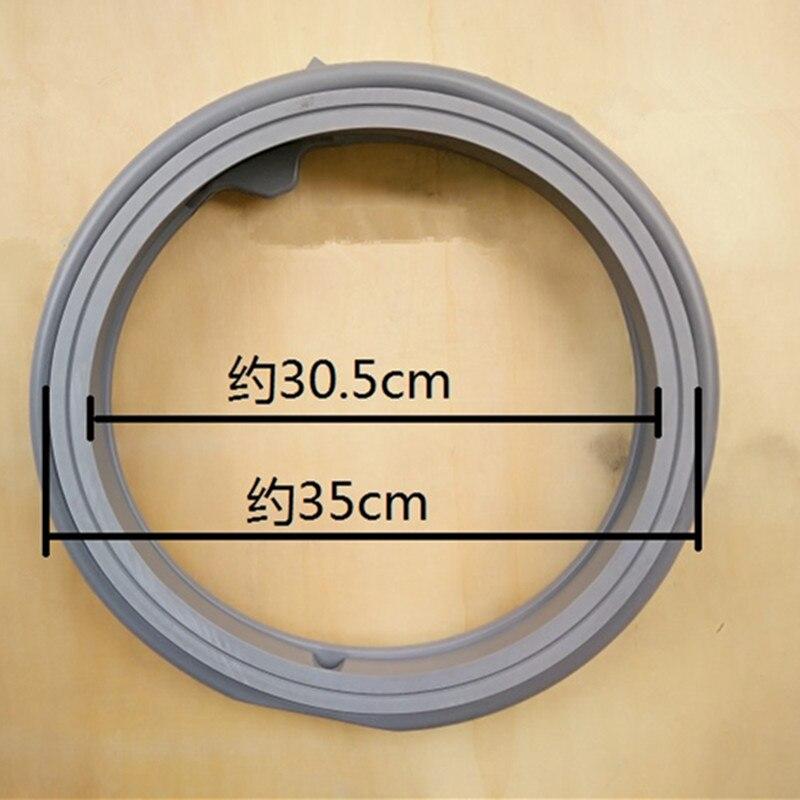 1 piezas aplicable a Samsung DC64 01664A WF8500NHW WF9508NHW WF1600WCW WF9600NHW WF0600NHS lavado de caucho máquina de sello de puerta-in Piezas de lavadora from Electrodomésticos    1
