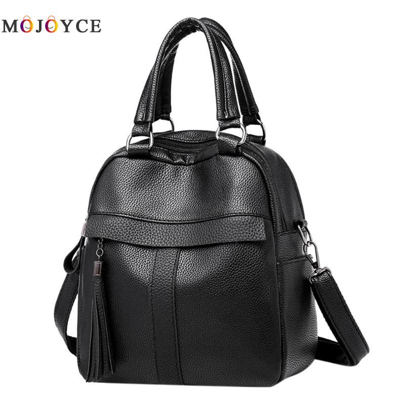 Women Mini Backpack Female Girls Soft Leather Backpacks Mochila Feminina Back Pack Mochila Feminina