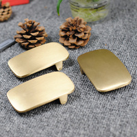 Solid Brass Belt Buckle Men Wide Belt Diy Accessories High Quality Belt Buckles Metal Custom Slide
