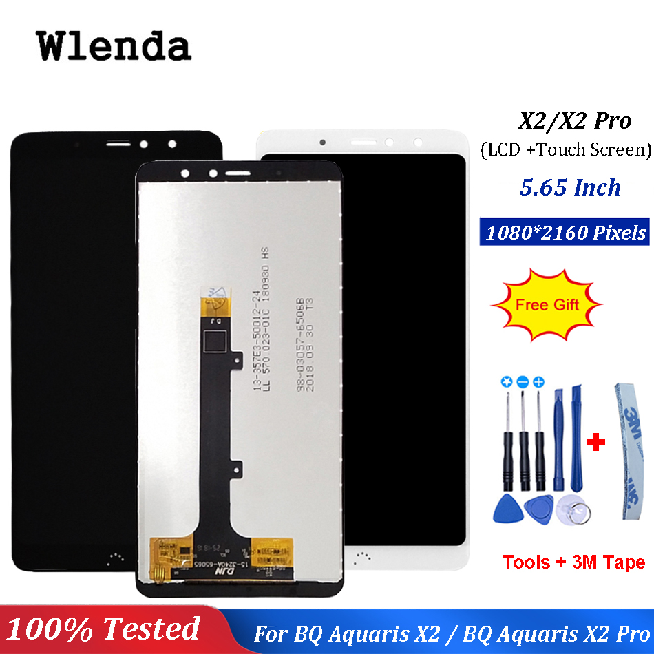 For BQ Aquaris X2 / X2 Pro LCD Display + Touch Screen Digitizer Assembly For BQ X2 Pro LCD PanelFor BQ Aquaris X2 / X2 Pro LCD Display + Touch Screen Digitizer Assembly For BQ X2 Pro LCD Panel