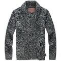Зима свитер куртка европейский и америка утолщаются кардиган свитер ван мужчины / M-XL