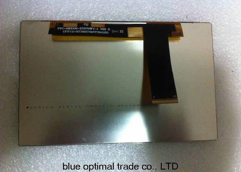 Brand new original factory original package zte t9 LCD zte V9 LCD zte V9e LCD  FPC-S93306 T9 tablet original LCD screen brand new original authentic brs15b