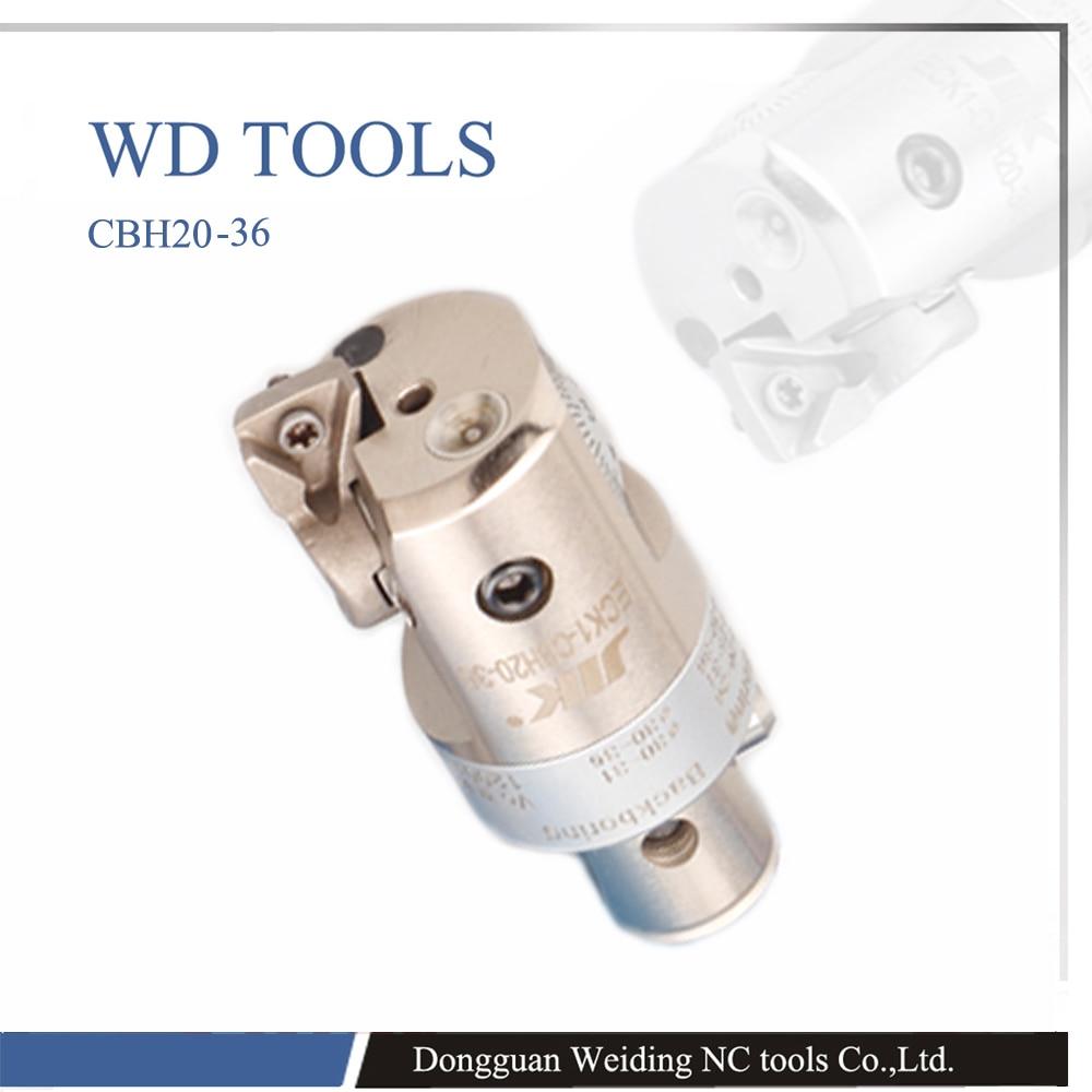 Precision Boring Head Adjustable EWN 25mm-33mm CNC Fine Machining Runout 0.01mm