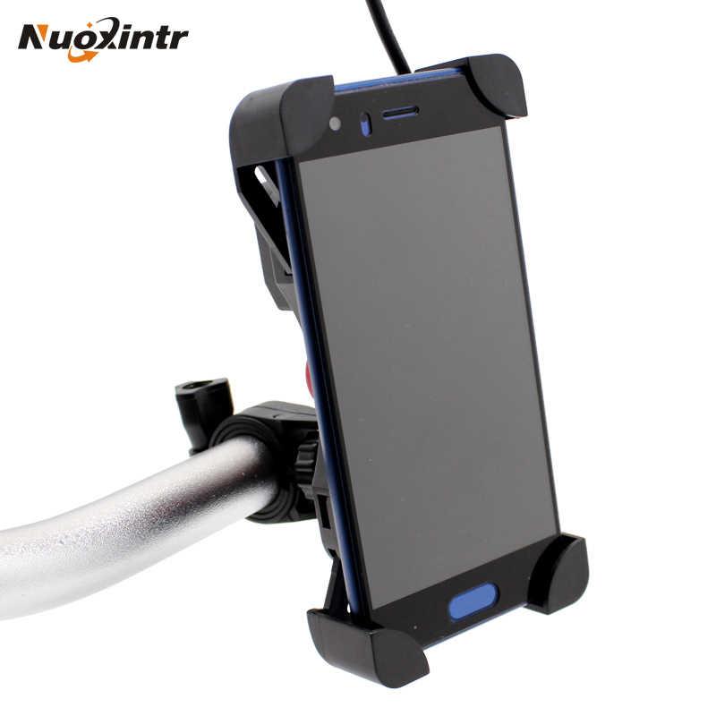 Nuoxintr universel double USB Moto chargeur téléphone prise Moto Motocross vélo support de guidon chargeur adaptateur secteur prise