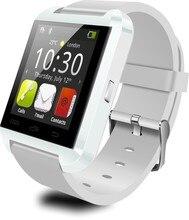 Neue Mode Bluetooth Uhr U8 Smart Uhr Wasserdichte Passometer Smartwatch Für IOS Android-Handy 3 Farben