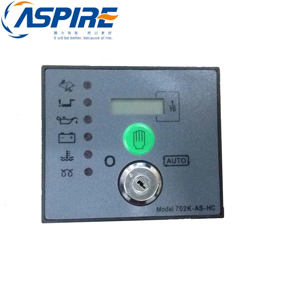 Free Shipping Genset Engine Control Module 702AS Auto Start  3 PCS For Sale dse702 as genset controller electronic auto start controller module generator