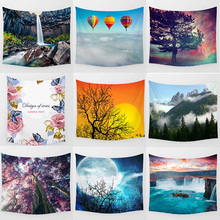Different beautiful balloon pattern tapestries Wall Hanging Printed home decoration tapestry huge  mountain