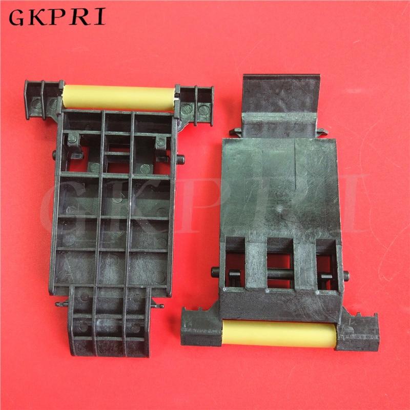 2sets Large format printer Mutoh VJ1604 1638 1624 Paper pinch roller assembly DX5 wheel holder rubber