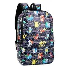 7c976071ef9832 Anime Pokemon Zaino Pocket Mostro Borse da Scuola Ash Ketchum/Pikachu di  Scuola Zaini Dei Ragazzi Delle Ragazze Del Bambino Bamb.