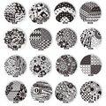 10 unids 60 diseños Nail Art Stamping placas de acero inoxidable DIY uñas de impresión de uñas sellos para manicura del arte del clavo plantilla de la plantilla