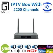 Beste israel iptv box hebräisch iptv zidoo x9 tv box android 6.0 + openwrt (nas) realtek rtd1295 2g/16g(China (Mainland))