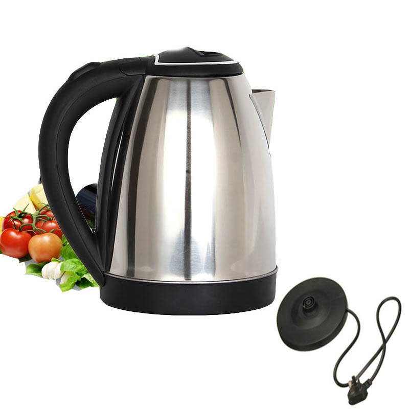electric kettle Household 1.8L Stainless Steel Electric Water Kettle With Safety Auto-off Function Quick Electric Boiling Pot cukyi stainless steel 1800w electric kettle household 2l safety auto off function quick heating red gold