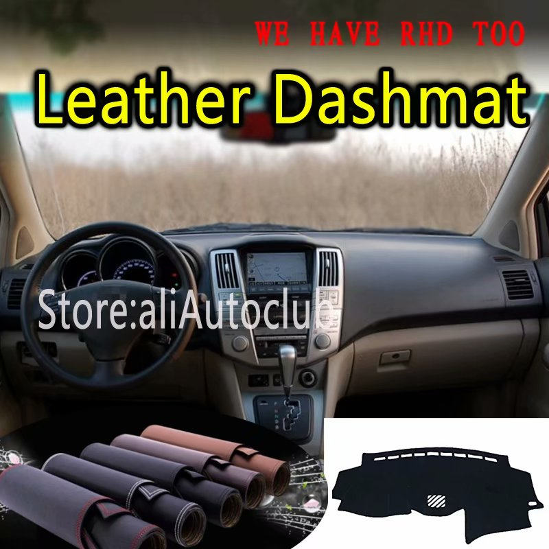 For <font><b>Lexus</b></font> RX300 RX350 <font><b>RX400</b></font> 2003 2004 2005 2007 2008 Leather Dashmat Dashboard Cover Dash <font><b>Mat</b></font> SunShade Carpet Custom <font><b>Car</b></font> Styling image