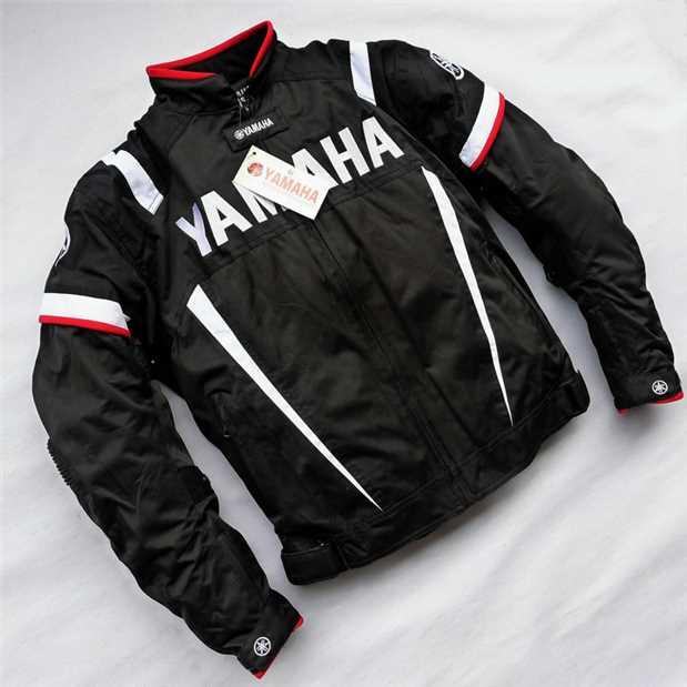 2018 MotoGP Racing Jacket With Protector For YAMAHA M1 Team Motocross Motorcycle Clothing motorcycle jacket motogp for yamaha m1 racing sweatshirt printing sport windproof windbreaker moto zip up jacket