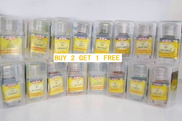 Nemat 96 Series Attar Ittar Oil 2.5 Ml, Free From Alcohol Buy 2 Get 1 Free!!