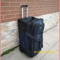 BeaSumore большой ёмкость 32 дюймов черный дорожная сумка сумки на колёсиках колёсики для мужчин бизнес тележка Многофункциональные чемоданы ко