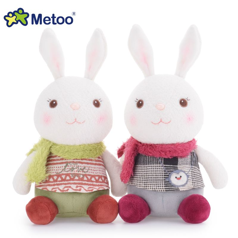 Belleza blanca postura de postura versión kawaii conejo conejito - Peluches y felpa
