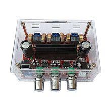 DC12 24V TPA3116D2 2 1 Channel Digital Subwoofer Power Amplifier Board case