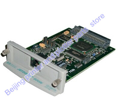 Free shipping JetDirect 600N J3113A 10/100tx Ethernet Internal Print Server Network Card printer part on sale