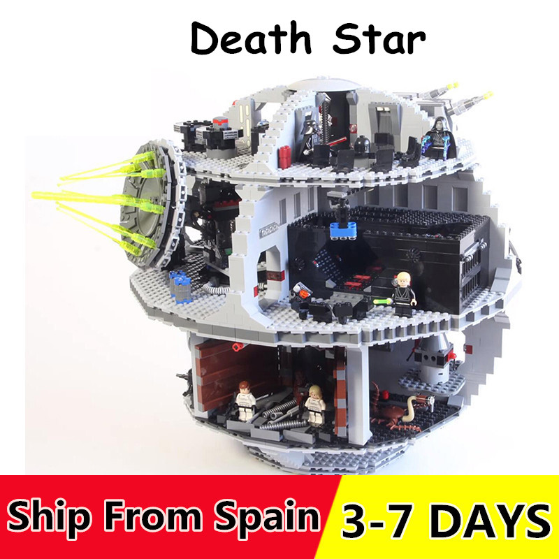 05063 Star plan Wars Set Death Star Building Block Toys for Kids Compatible with 10188 75159