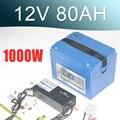 12V 80AH литий-ионный аккумулятор 18650 литиевый аккумулятор