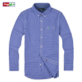 spring Brand camisa masculina Men Clothes Slim Fit Men Long Sleeve tommis Shirt Men Plaid 100% Cotton Casual Men Shirt Social