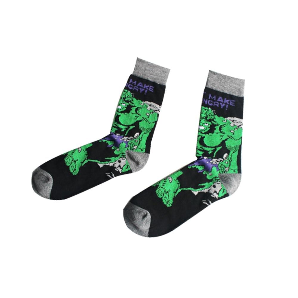 Harajuku-Super-Hero-Batman-Cotton-Socks-marvel-comics--Cosplay-elastic-cotton-Long-Cosplay-Punisher-Skate(5)
