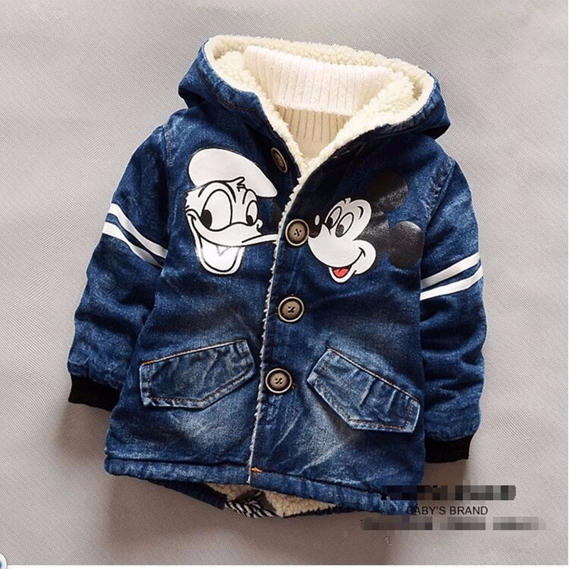 Jacket Coat Girls Winter Clothing Outerwear Warm Fashion Hooded Kids Children title=