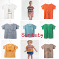 2017 new spring summer bobo Choses baby T shirt Tee top for Boys Girls Tops Tee baby kids Children Clothing bebe menino vestidos
