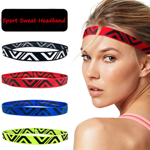 Befusy Absorbent Sport Sweat Headband Sweatband For Men and Women Yoga Gym  Hair Bands Head Sweat Bands Running Sports Safety 768072acee