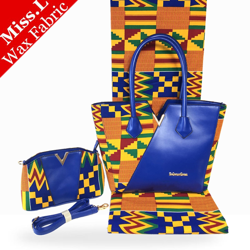 Hot Sale African Woman s Wax Bags High Quality wax Bags Matching 6 Yards Most Popular