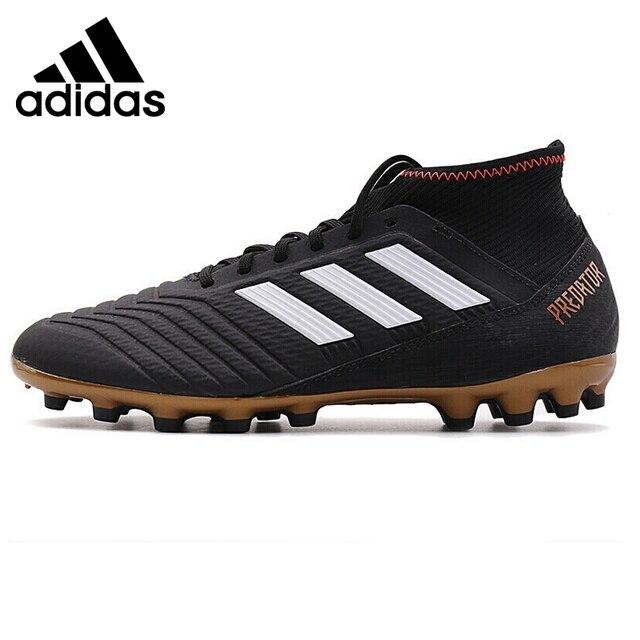 Nueva llegada original 2018 Adidas Predator 18.3 los hombres AG fútbol Zapatillas  de Soccer sneakers 0733476e9f198