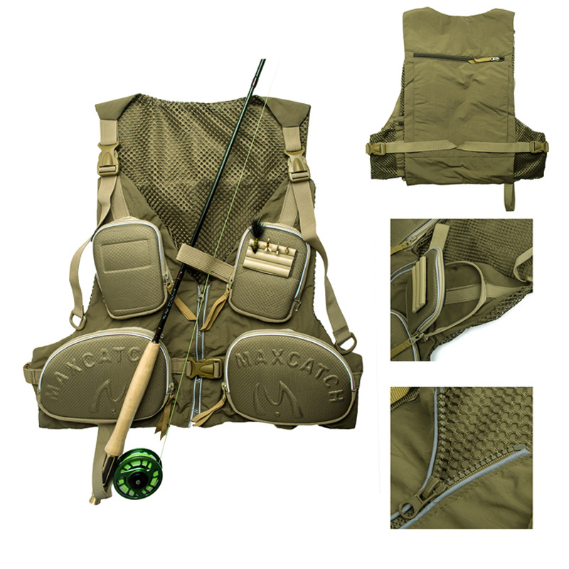 Outdoor Fishing Hunting Vests Life Vest For Fishing Clothing Vests Jacket Sporting Camping Boating Quick Dry Vest With Pockets 2017 fashion summer women shoulder bags leather high quality messenger bag boston flowers handbag cross body bags tote purse