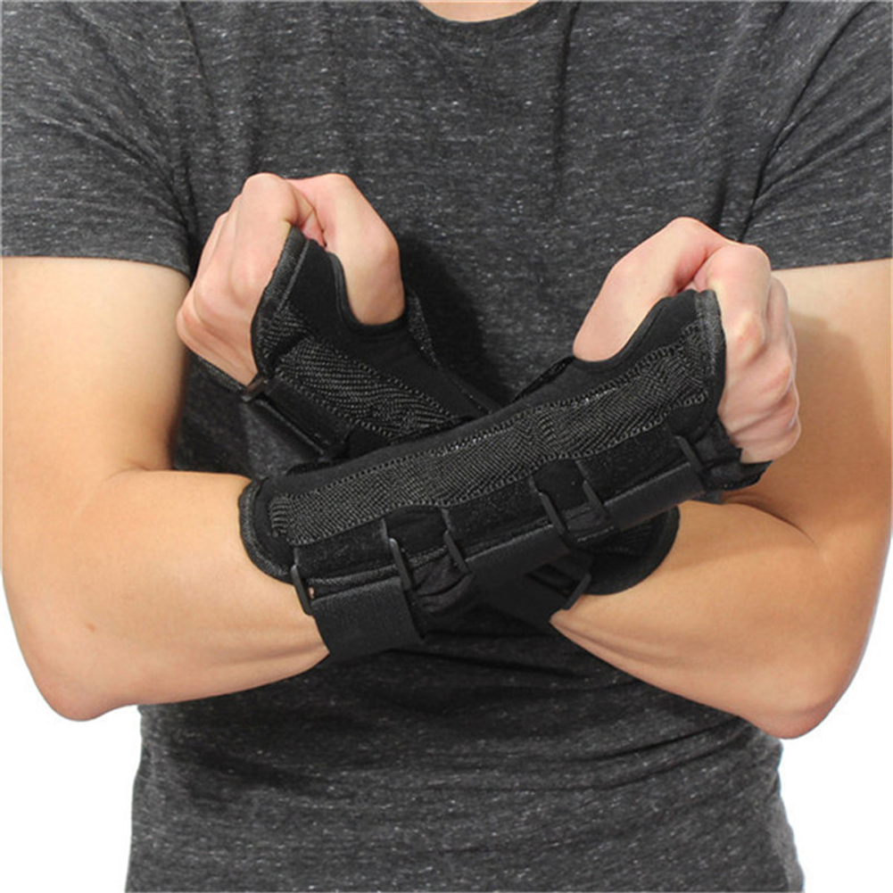 Durable 1PCS Wrist Support Carpal Tunnel Wrist Brace Support Forearm Splint Band Strap Pain Relieve Soft Moisture-Wicking ...