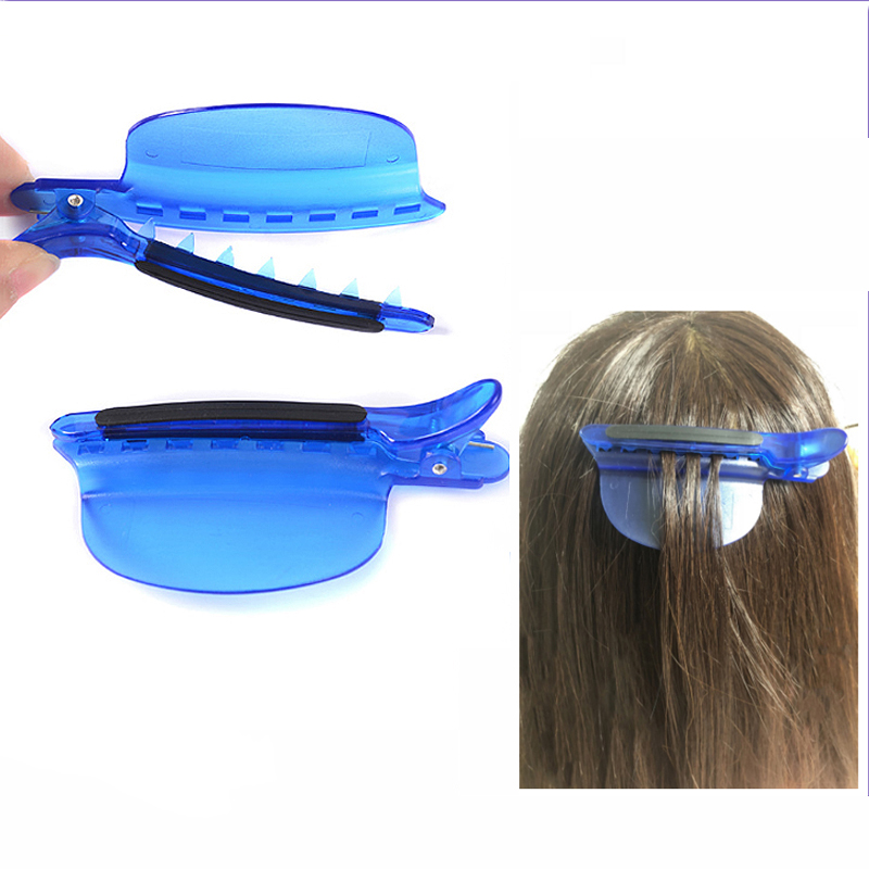 2pcs/set Speed Hair Highlight Clips Hairdressing Sectioning Cutting Clamps Salon Perm Dye Color Styling Hair Plate Grips U1155