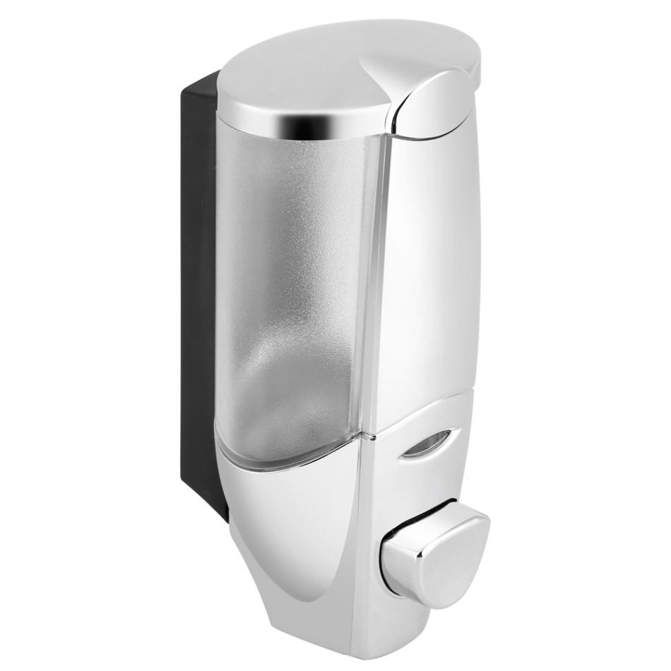 Wall Mount Manual Soap Dispenser Bathroom Shower Shampoo Manual Guide
