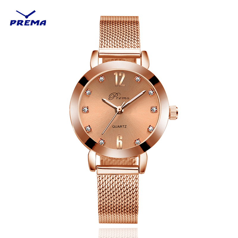 Ladies Watch Rose Gold Women Wrist Watches 2019 Stainless Steel Wristwatch Brand Luxury Silver Bracelet Quartz Female Clock