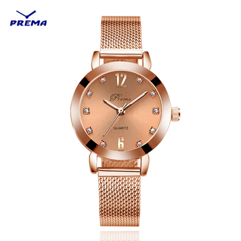 цена Bracelet watch silver New Ladies watch rose gold women wrist watches stainless steel wristwatch brand luxury quartz female clock онлайн в 2017 году