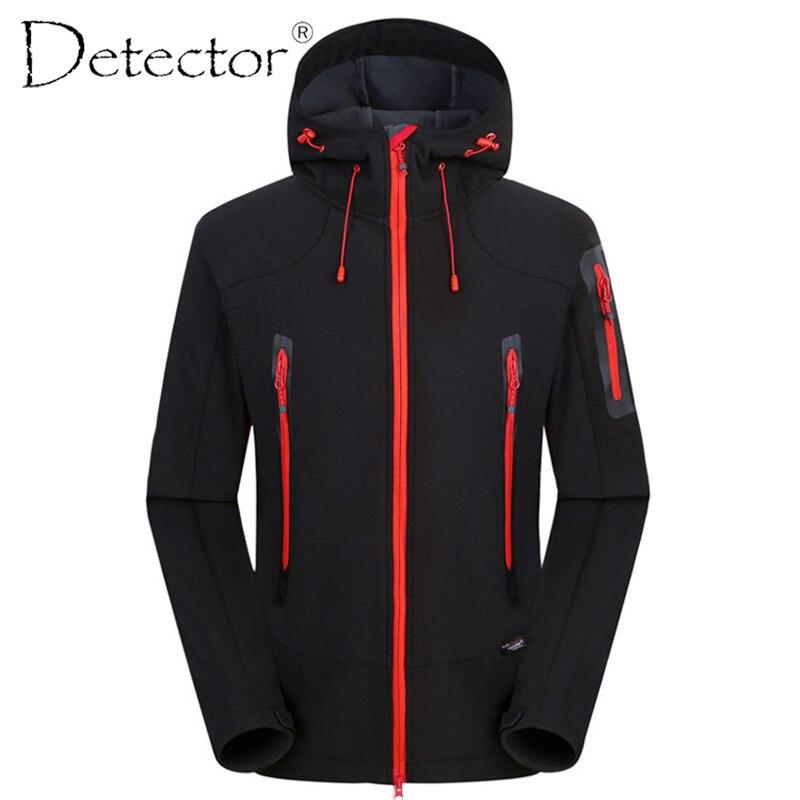 Détecteur chasse en plein air Camping randonnée veste coupe-vent imperméable respirant séchage rapide Softshell veste hommes femmes vêtements