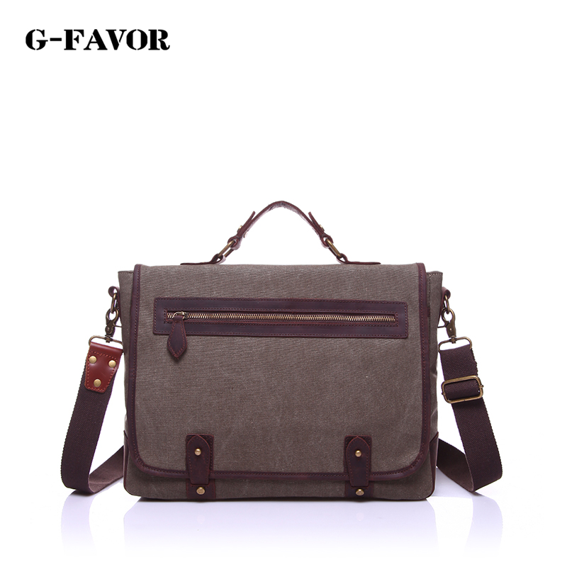 Factory direct high-quality canvas handbag fashion high-quality shoulder bag European and American tide brand Messenger bag